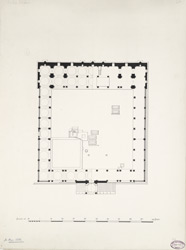 Sakar Khan's mosque [ground plan]